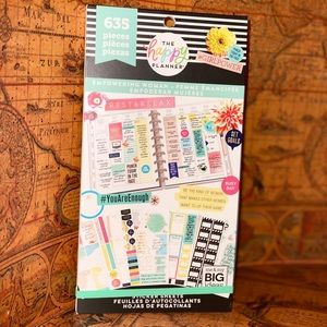 "Happy planner ""Empowering Woman"" stickers book"